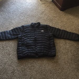 Men's The North Face Black Puffy Jacket